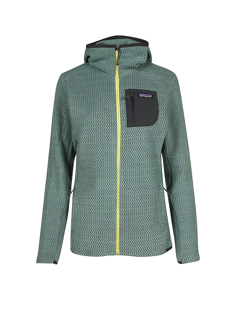 PATAGONIA | Damen Fleecejacke R1® Air Full-Zip Hoody | grün