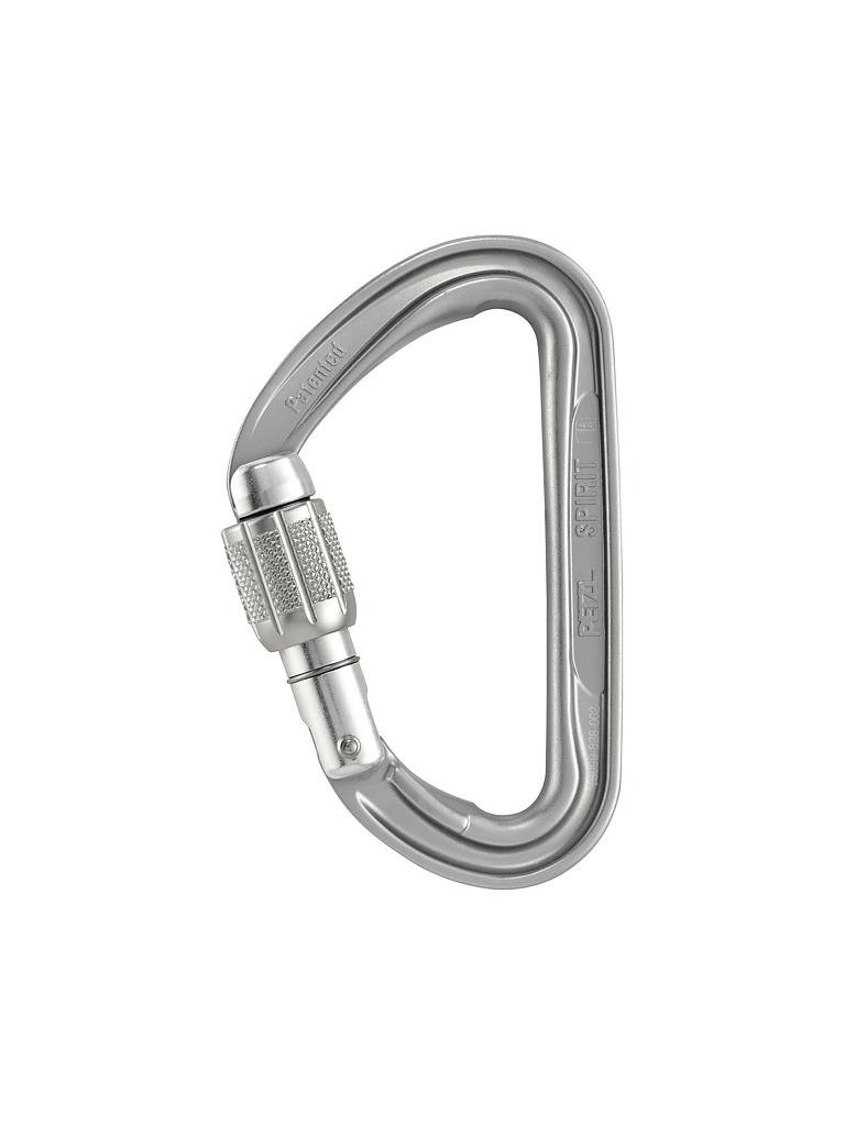 PETZL | Karabiner Spirit Screw-Lock | silber