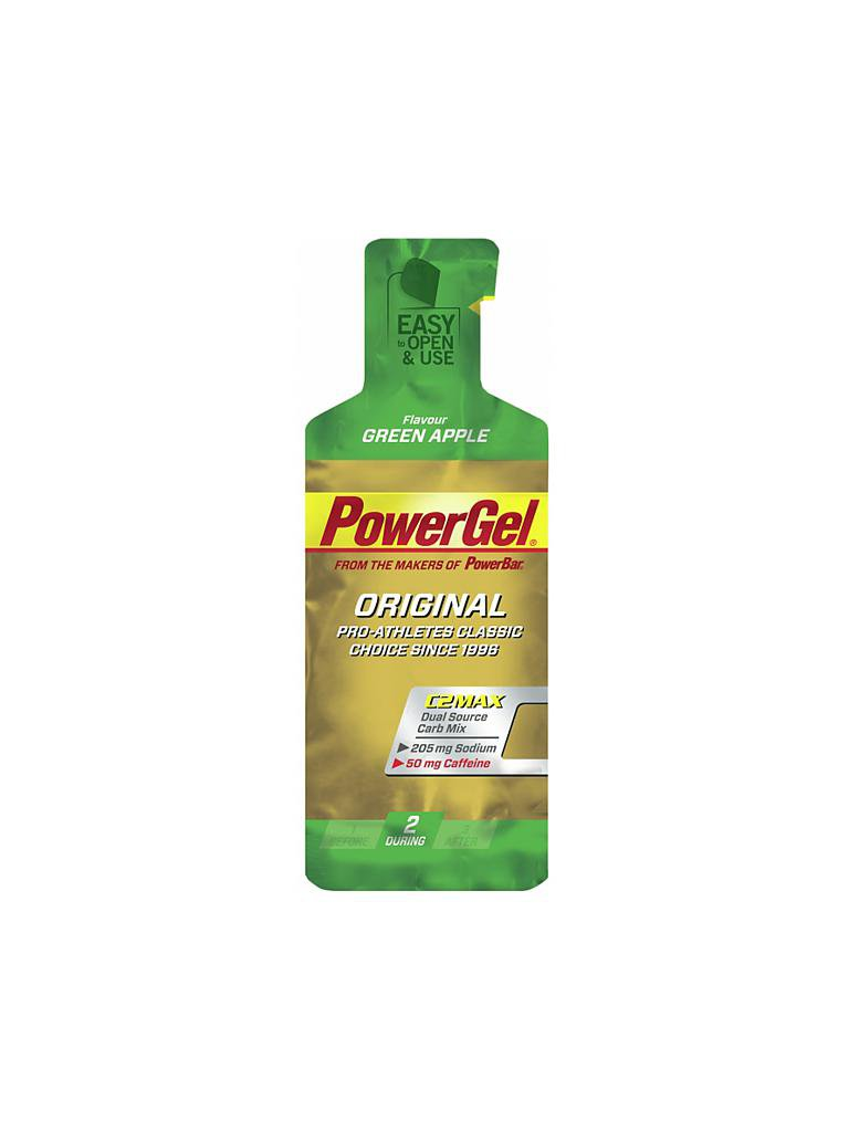 POWER BAR | Power Gel Green Apple | grün