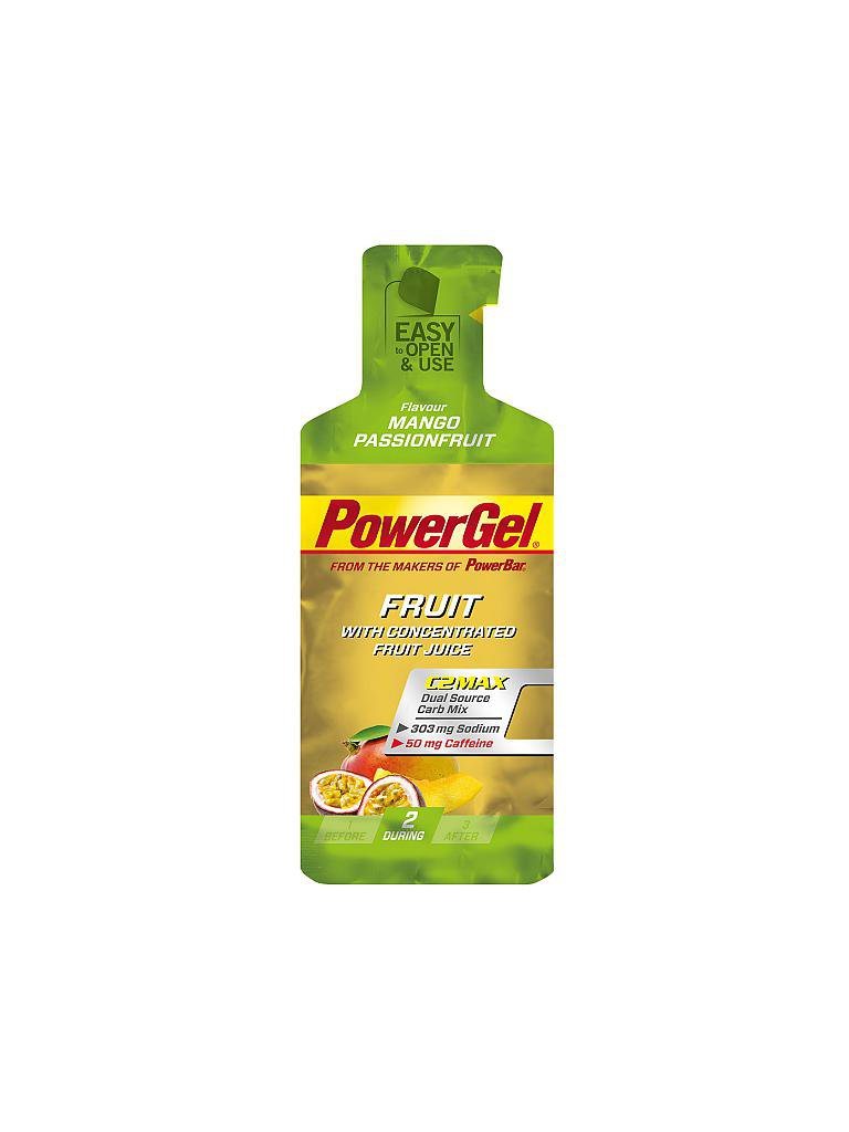 POWER BAR | Power Gel Mango Passionfruit | grün