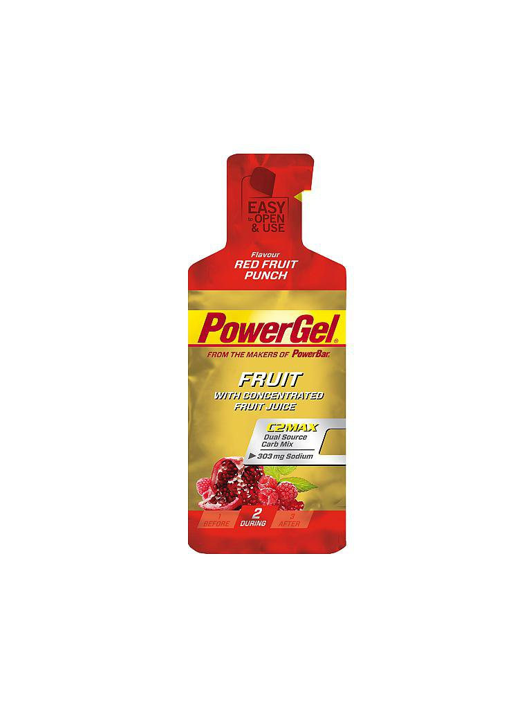 POWER BAR | Power Gel Red Fruit | rot