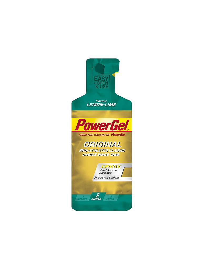 POWER BAR | Power Gel Zitrone | grün