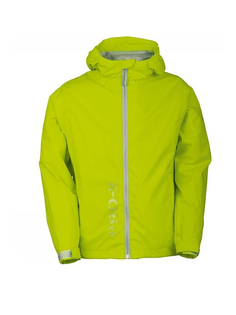 PRO-X ELEMENTS | Kinder Regenjacke Flashy | grün