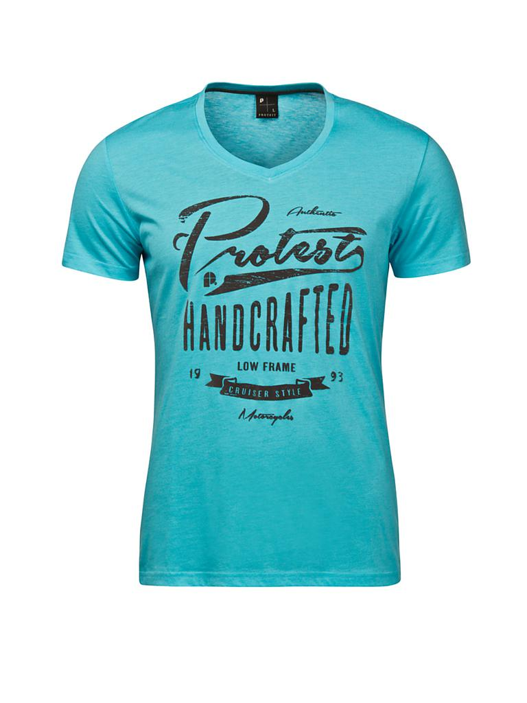 PROTEST | Herren Beachshirt Attack | blau