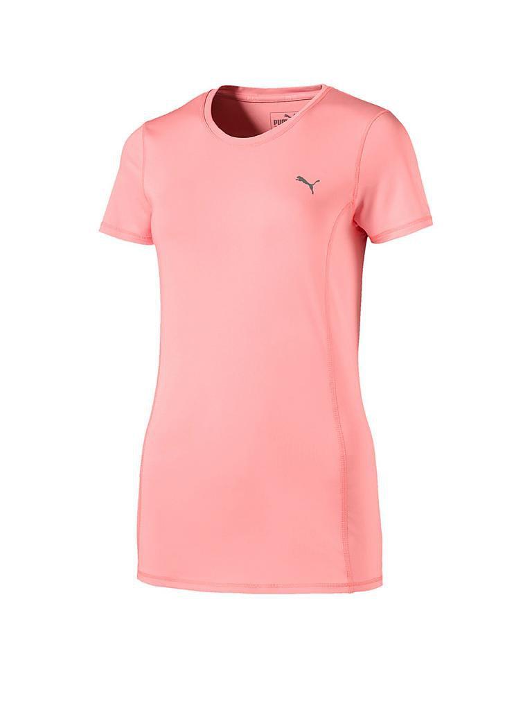 puma damen essential t shirt rosa xs. Black Bedroom Furniture Sets. Home Design Ideas