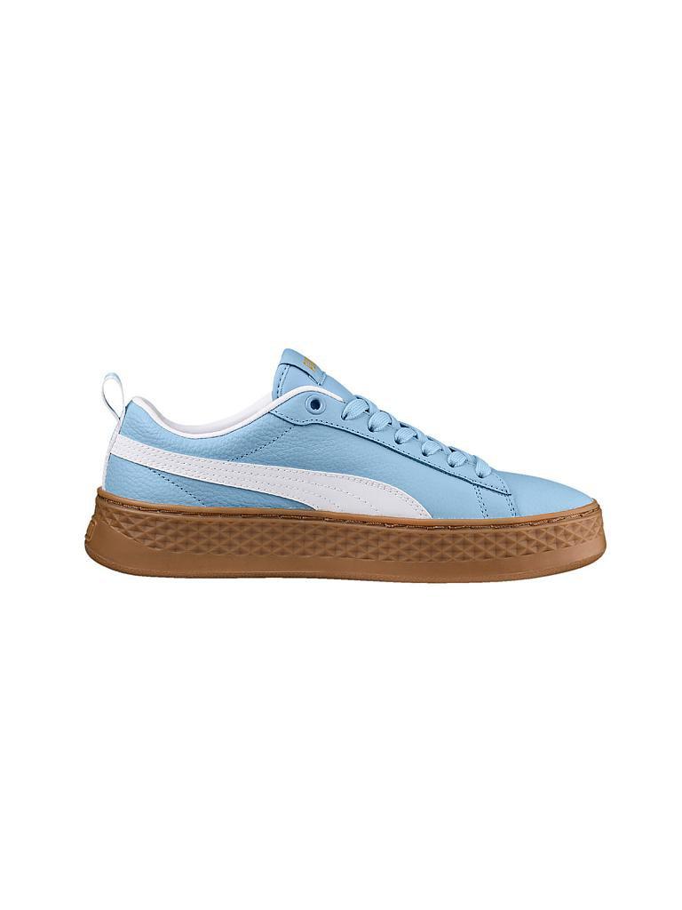 ee9574a1db4495 PUMA Damen Schuh Smash Platform Varsity blau