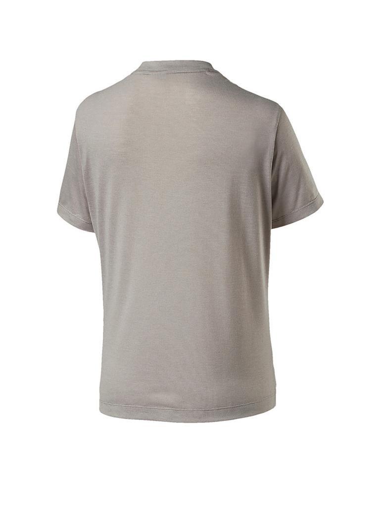 puma damen t shirt classics logo tee beige m. Black Bedroom Furniture Sets. Home Design Ideas