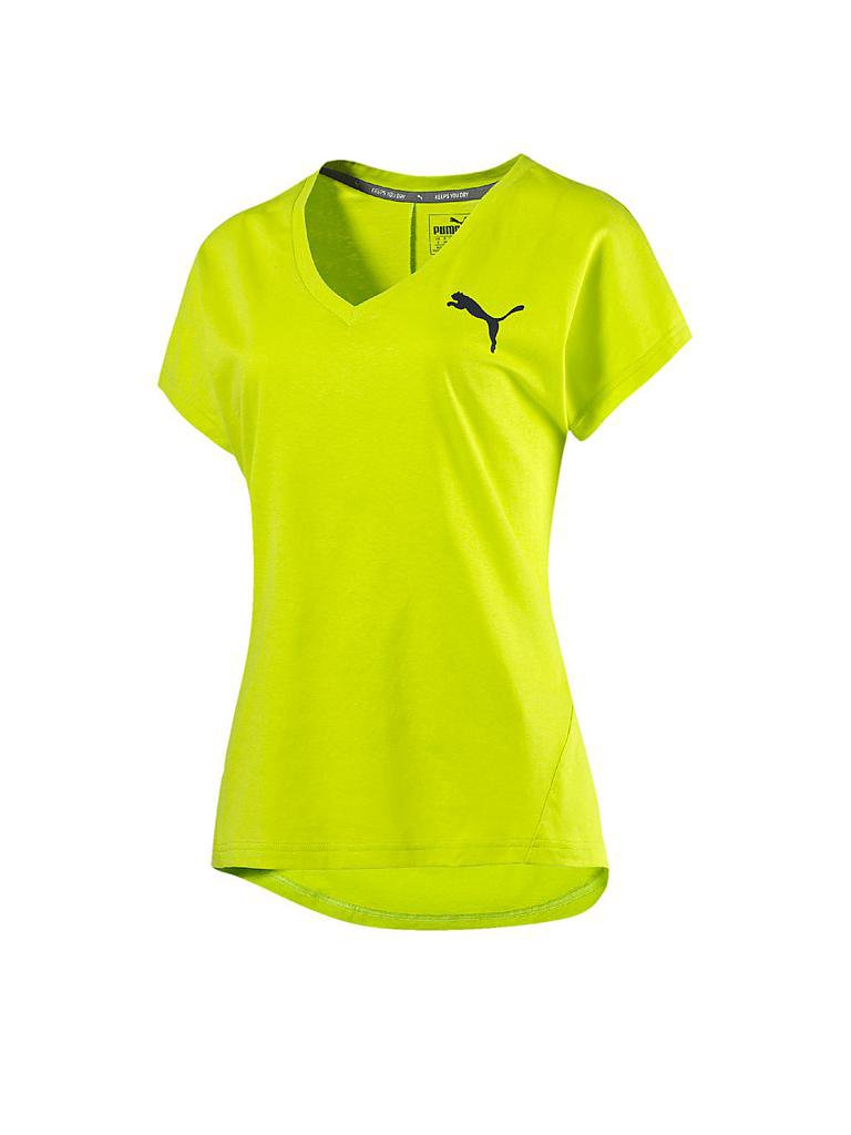 PUMA | Damen T-Shirt Elevated | gelb