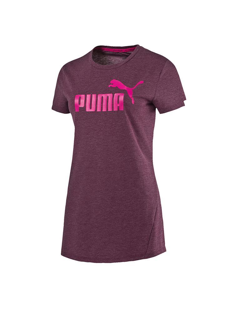 puma damen t shirt ess heather lila xs. Black Bedroom Furniture Sets. Home Design Ideas