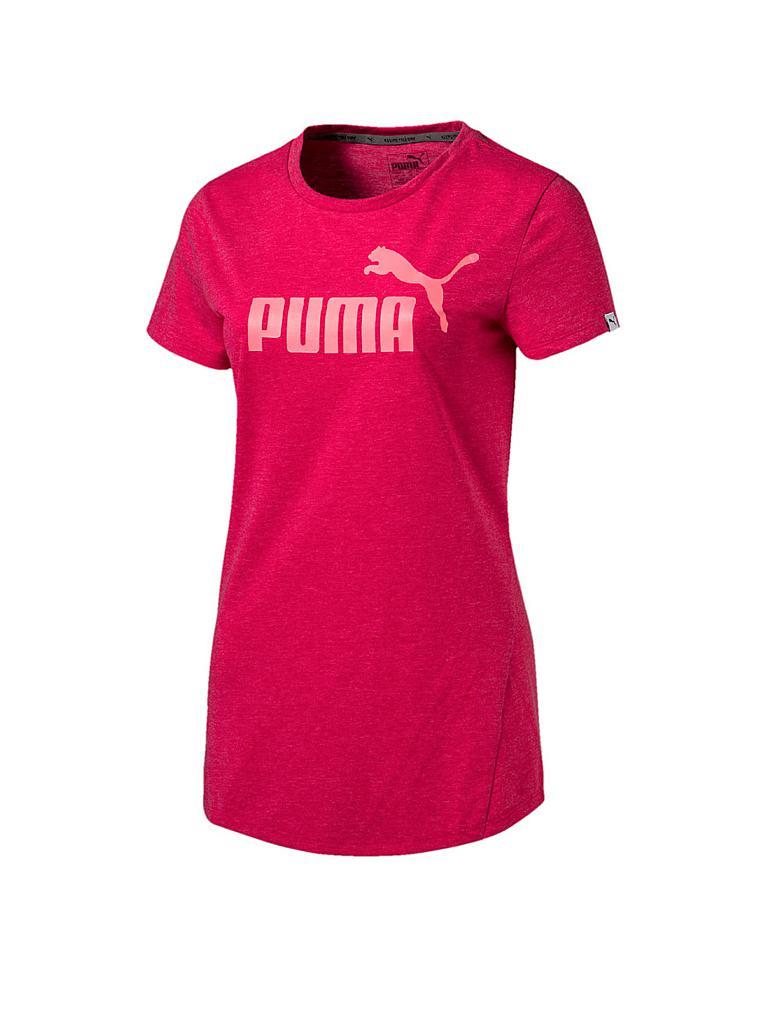 puma damen t shirt ess heather pink xs. Black Bedroom Furniture Sets. Home Design Ideas