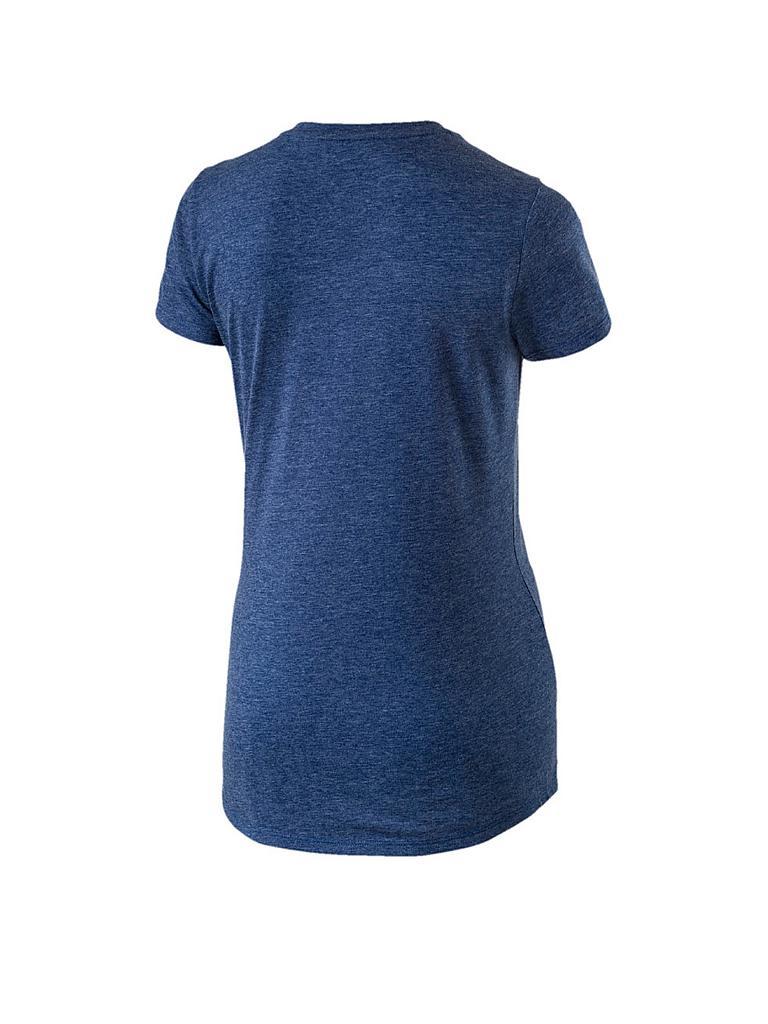 puma damen t shirt ess heather blau xs. Black Bedroom Furniture Sets. Home Design Ideas