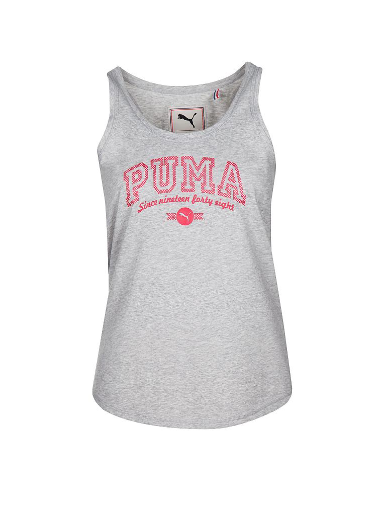 PUMA | Damen Trainings-Tanktop | grau