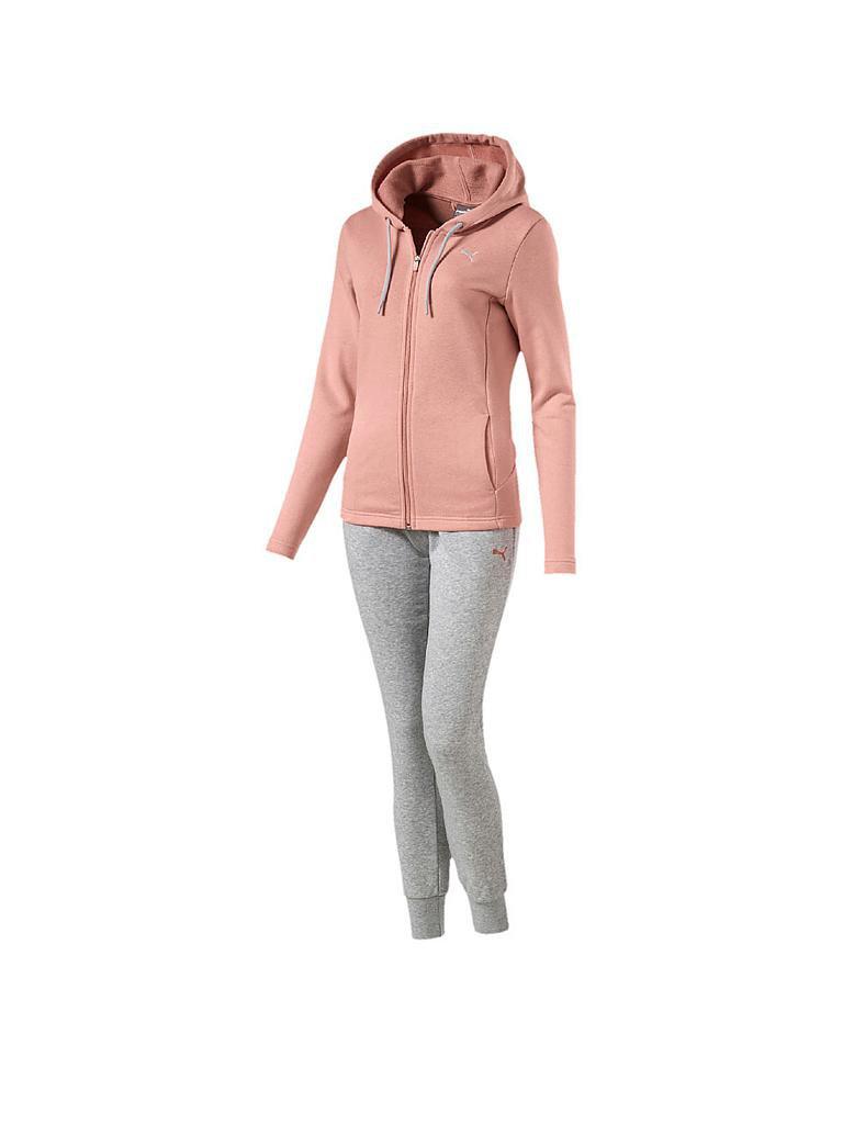 puma damen trainingsanzug classic sweat suit rosa xs. Black Bedroom Furniture Sets. Home Design Ideas