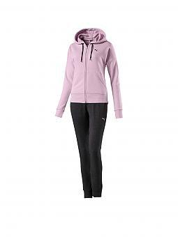 puma damen trainingsanzug classic rosa xs. Black Bedroom Furniture Sets. Home Design Ideas