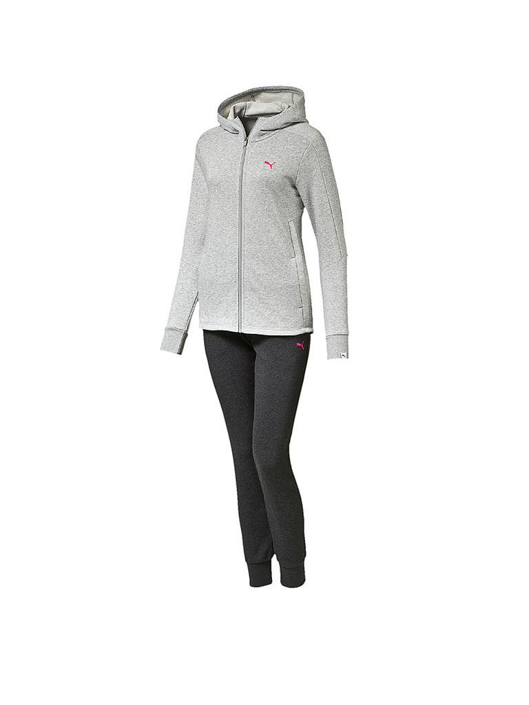 PUMA | Damen Trainingsanzug Style Best | grau