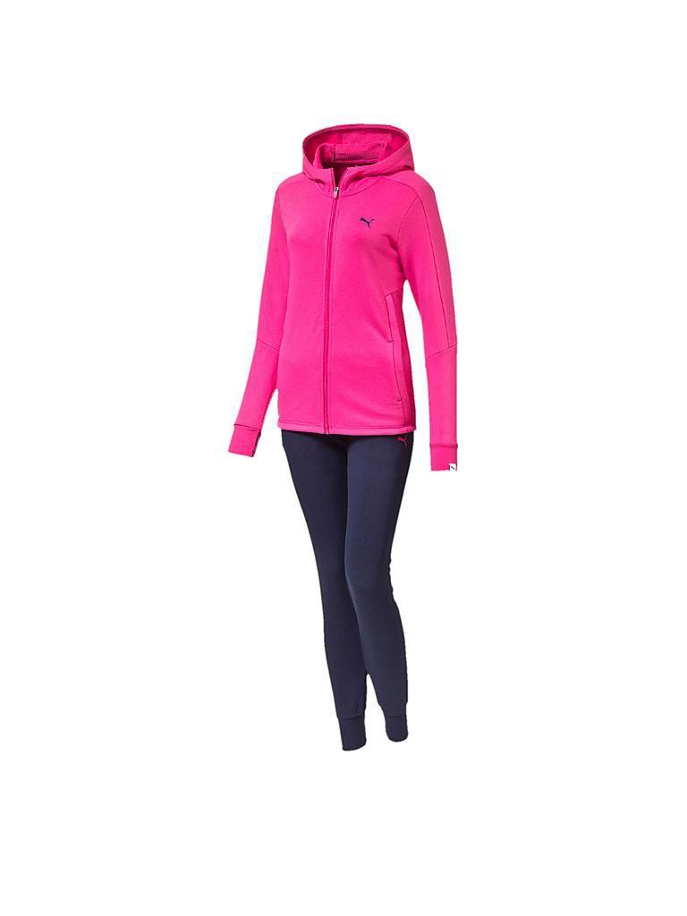 puma damen trainingsanzug style best pink xs. Black Bedroom Furniture Sets. Home Design Ideas