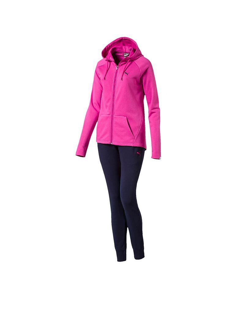 puma damen trainingsanzug pink xs. Black Bedroom Furniture Sets. Home Design Ideas
