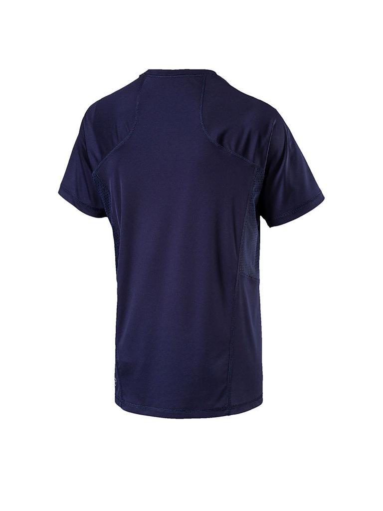 puma herren fitness shirt vent cat blau s. Black Bedroom Furniture Sets. Home Design Ideas