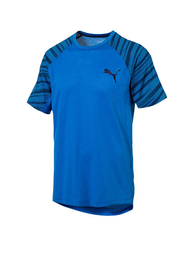 puma herren t shirt active training dri release blau s. Black Bedroom Furniture Sets. Home Design Ideas