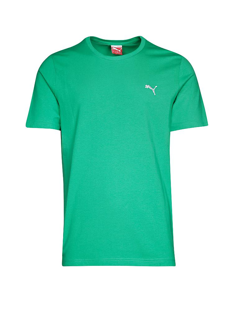 PUMA | Herren Trainings-Shirt Ess | grün
