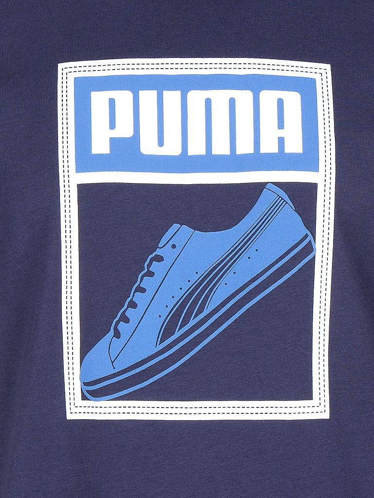 PUMA | Herren Trainings-Shirt | blau
