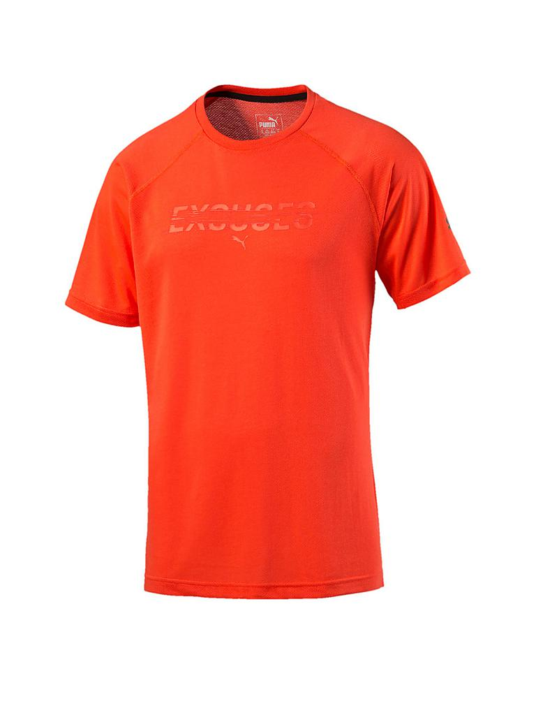 PUMA | Herren Trainingsshirt Ess | orange