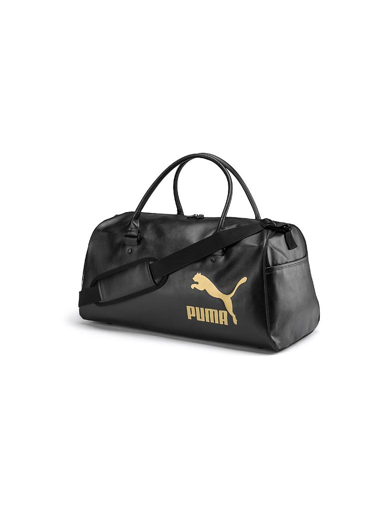 PUMA | Trainingstasche Originals Retro | schwarz