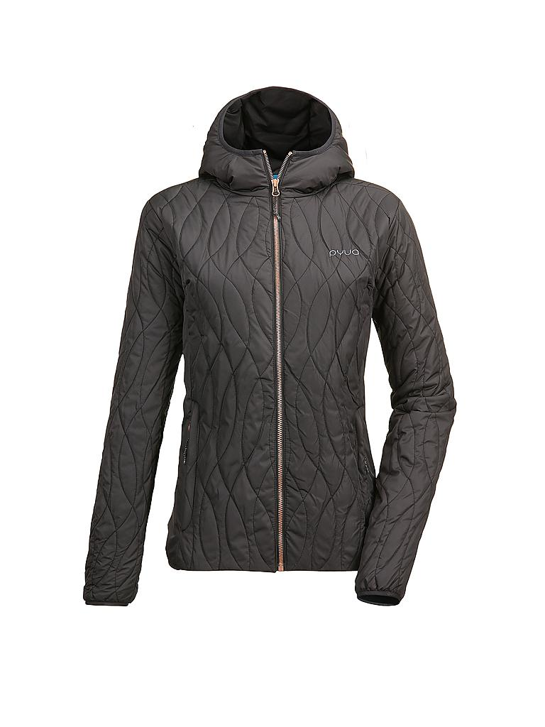 PYUA | Damen Isolationsjacke Shade | schwarz