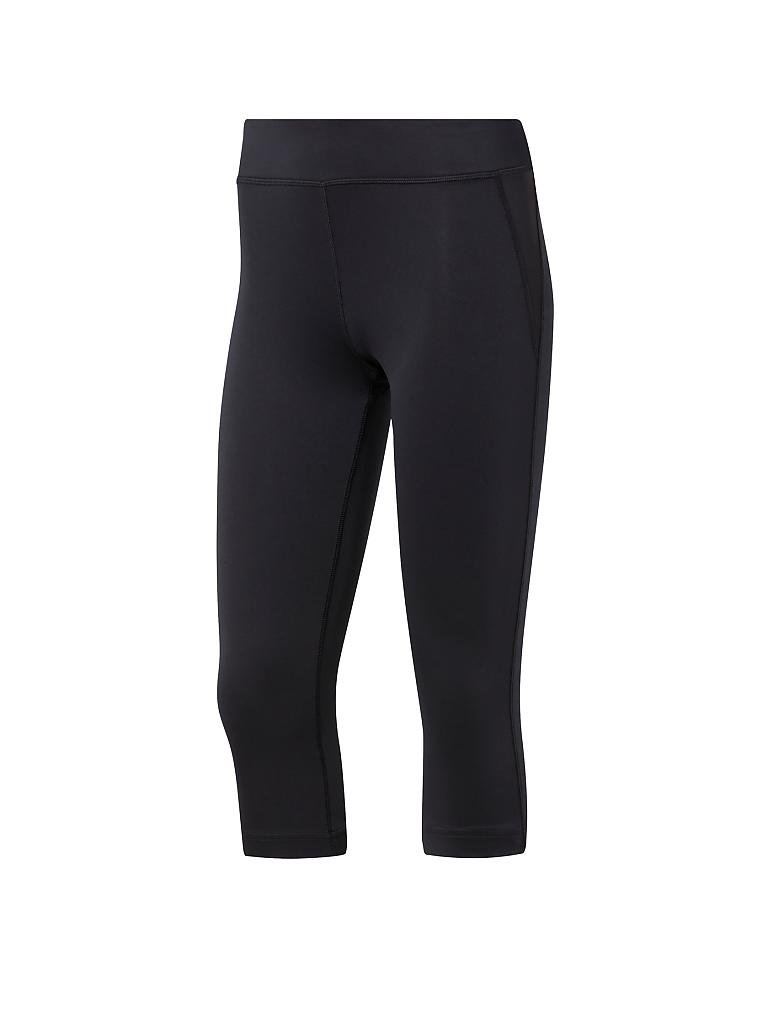 REEBOK | Damen Fitness-Capri Workout Ready | schwarz