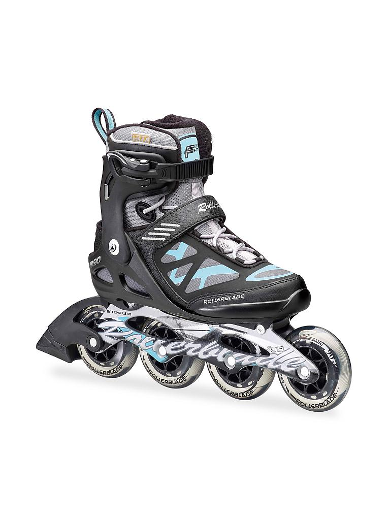 rollerblade damen inline skates macroblade 90 schwarz 36 5. Black Bedroom Furniture Sets. Home Design Ideas