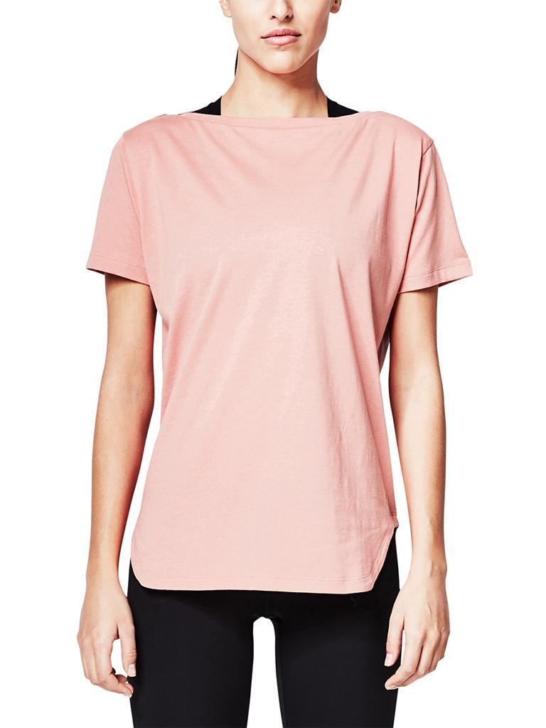 s oliver active damen oversized t shirt orange l. Black Bedroom Furniture Sets. Home Design Ideas