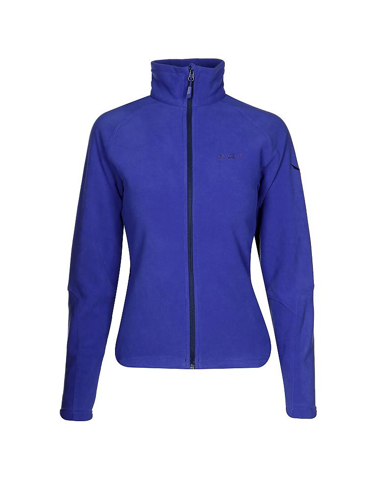 SALEWA | Damen Fleecejacke Rainbow | blau