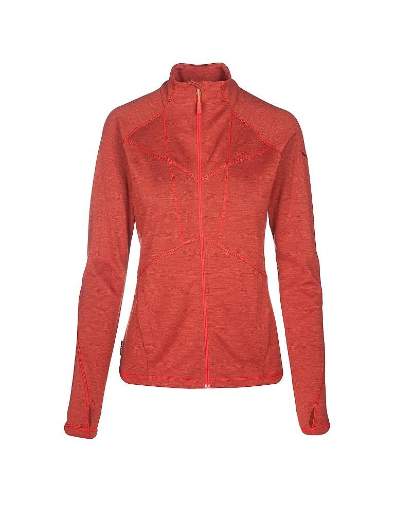 SALEWA | Damen Fleecejacke Sesvenna Merino | orange