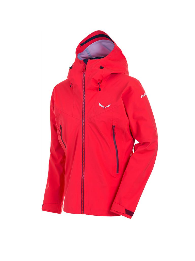 SALEWA | Damen Wanderjacke Ortles GTX Stretch | rot