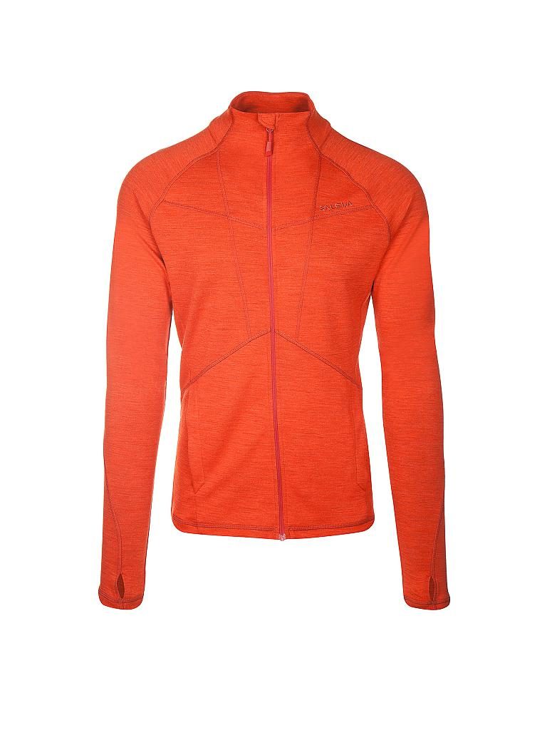 SALEWA | Herren Fleecejacke Sesvenna Merino | orange