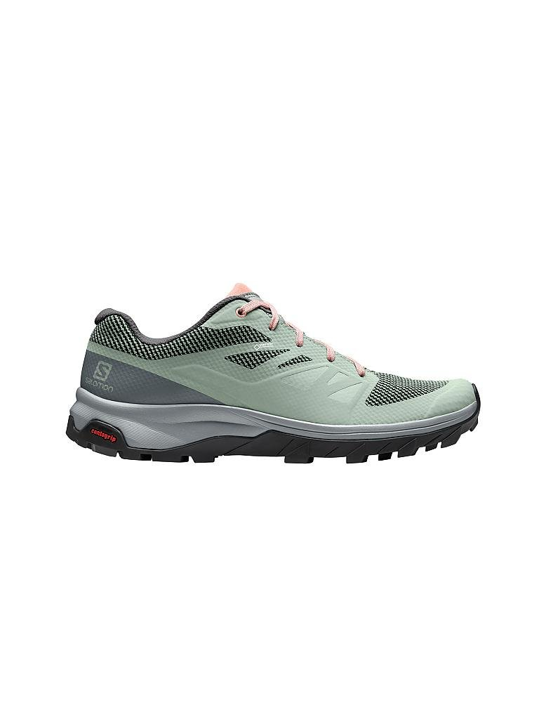 SALOMON | Damen Multifunktionsschuh Outline GTX | grün