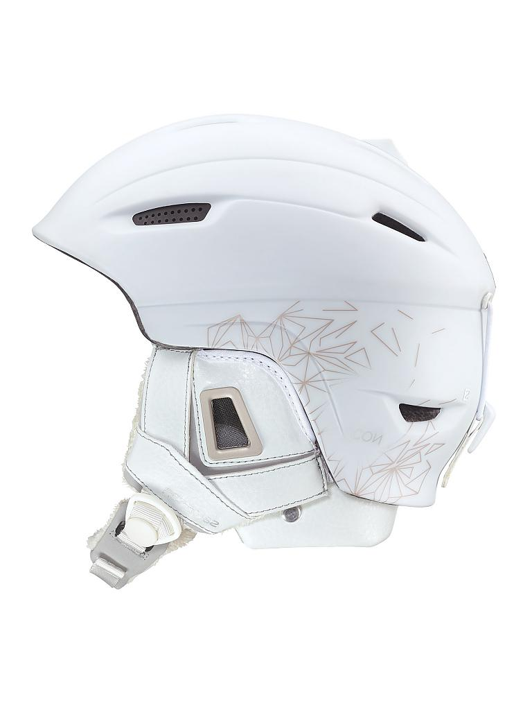 SALOMON | Damen Skihelm Custom Air | weiß