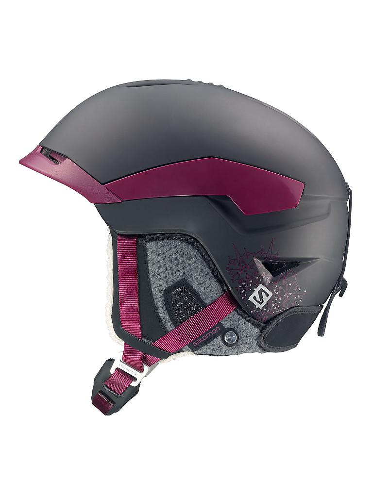 SALOMON | Damen Skihelm Quest W  | schwarz