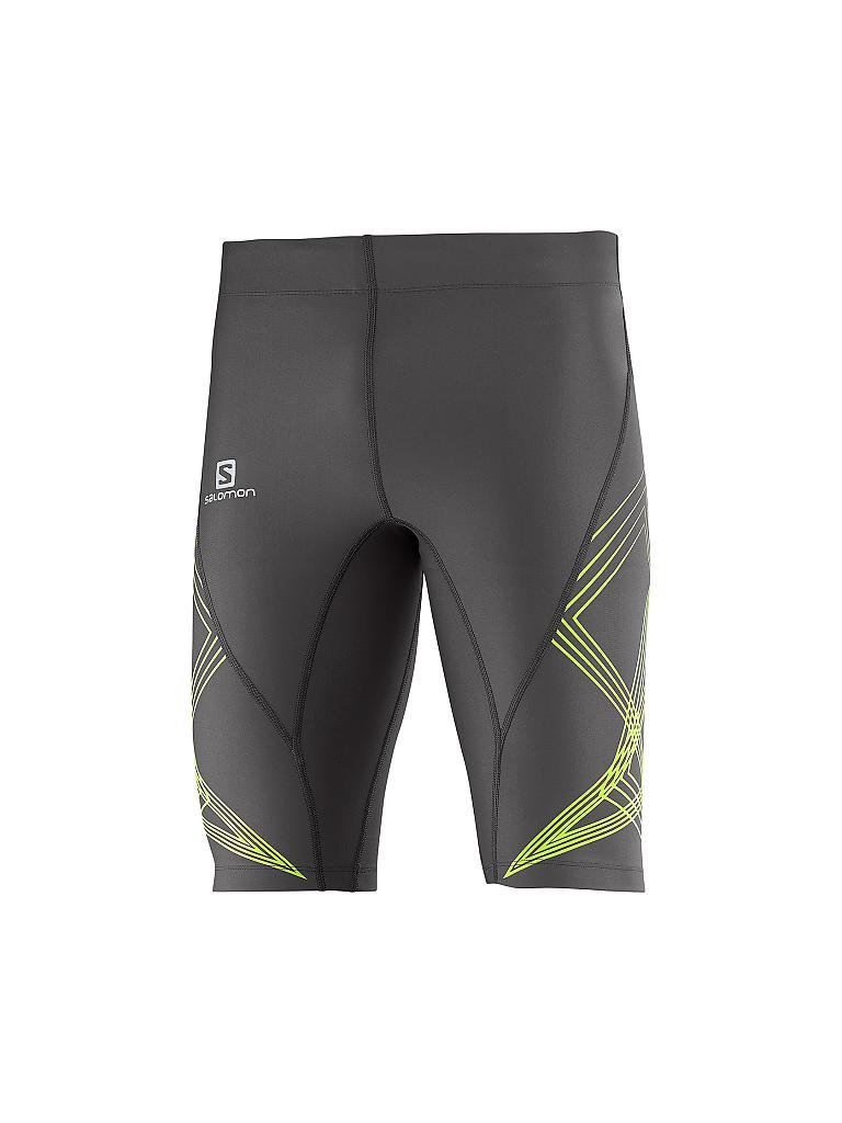 SALOMON | Herren Laufshort Intensity | grau