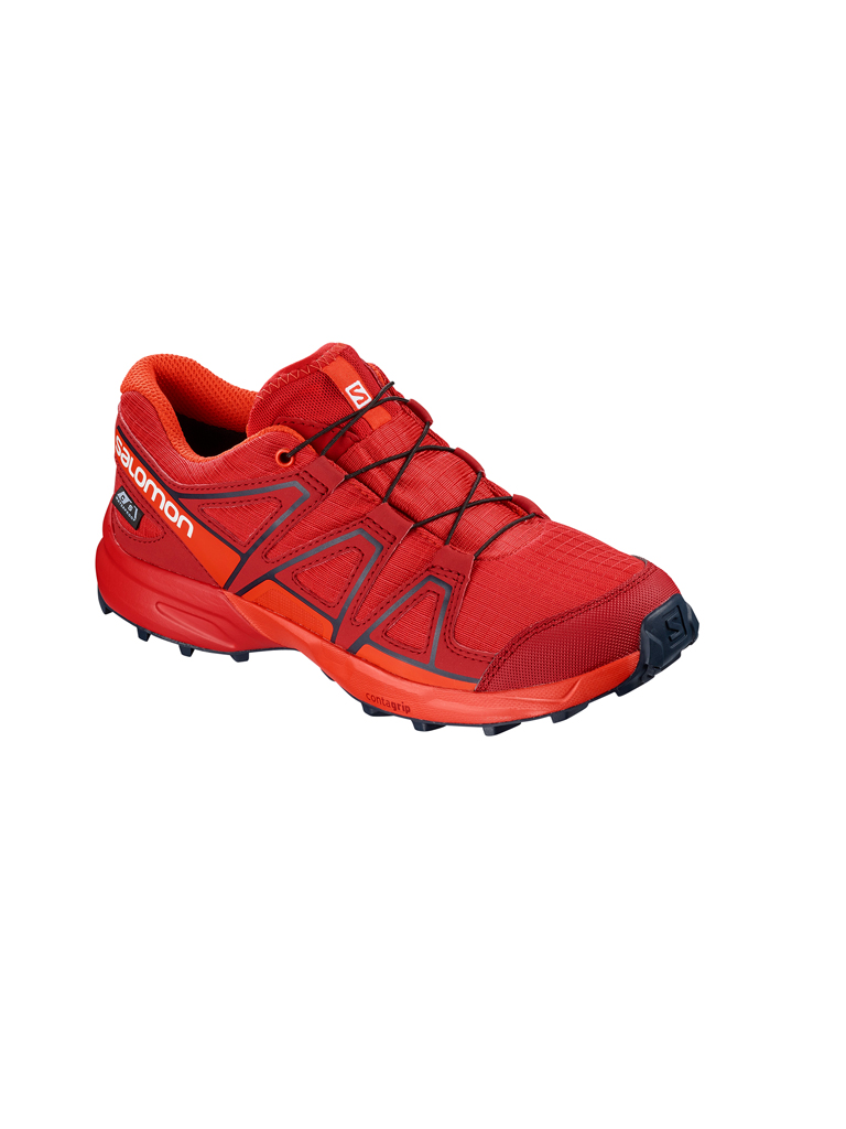 SALOMON | Kinder Laufschuh Speedcross CSWP Junior | rot