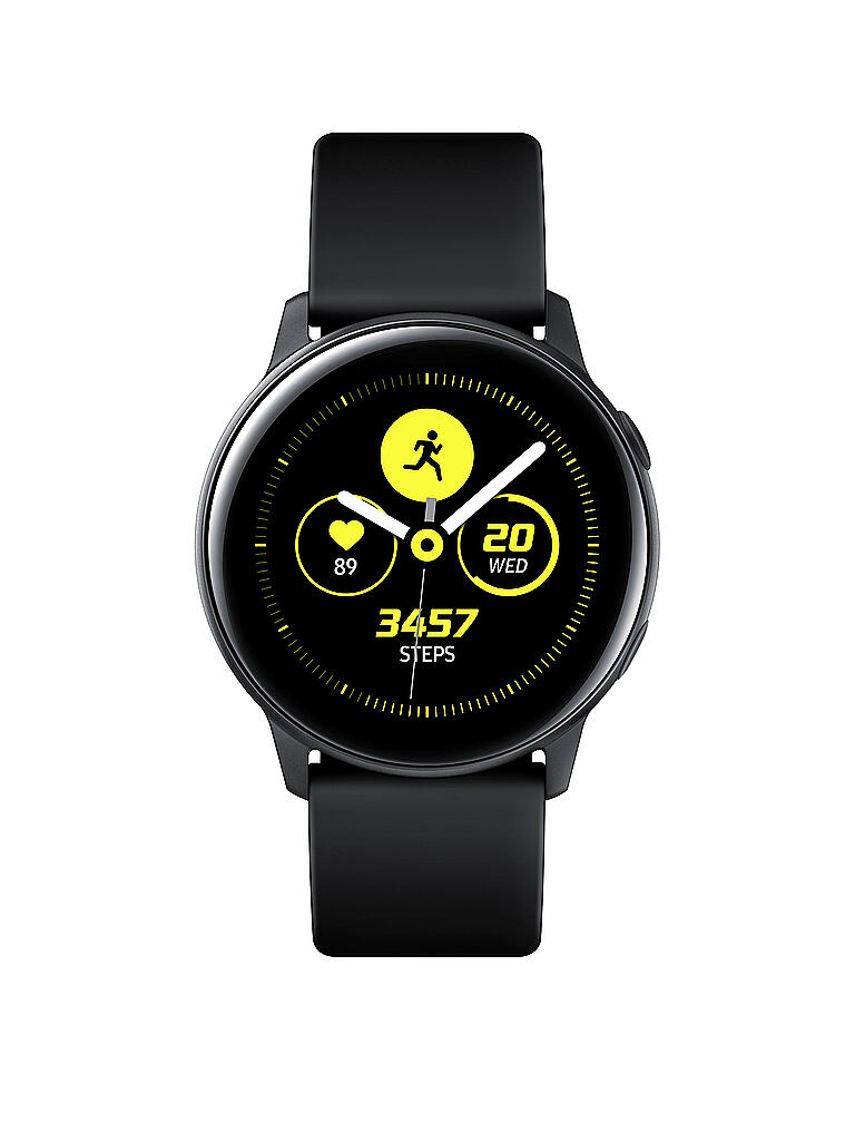 SAMSUNG | Smartwatch Galaxy Watch Active inkl. Wireless Battery Pack | schwarz