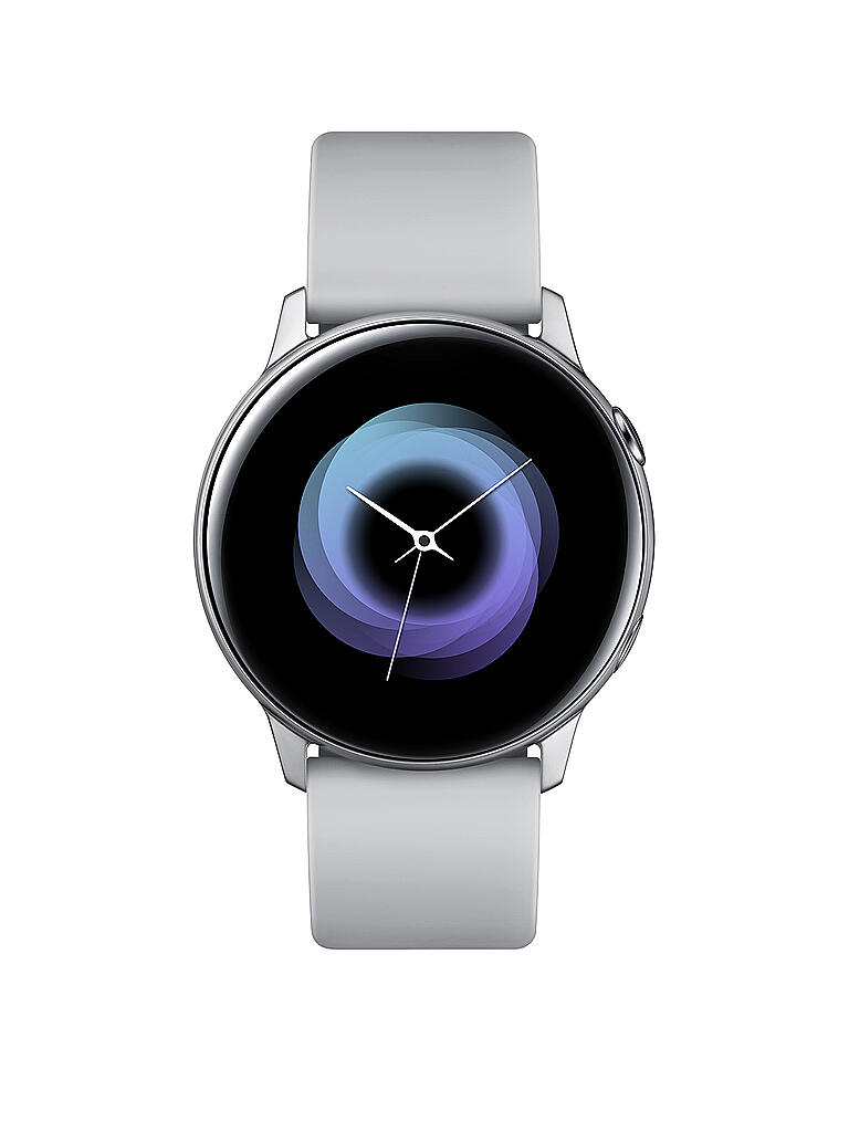 SAMSUNG | Smartwatch Galaxy Watch Active inkl. Wireless Battery Pack | silber