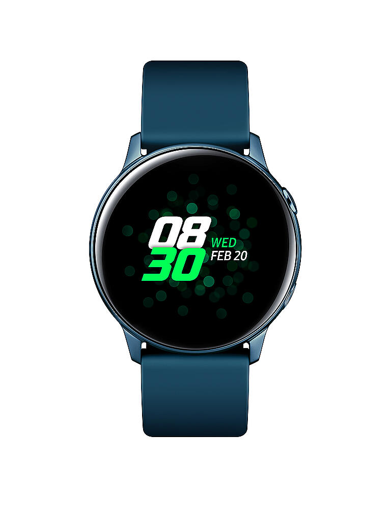 SAMSUNG | Smartwatch Galaxy Watch Active inkl. Wireless Battery Pack | grün