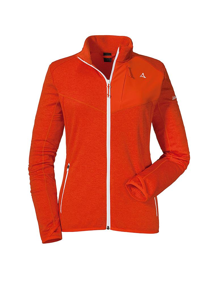 SCHÖFFEL | Damen Fleecejacke Houston1 | orange