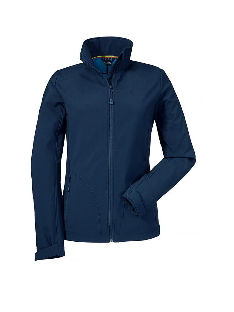 Schoffel damen jacke blau
