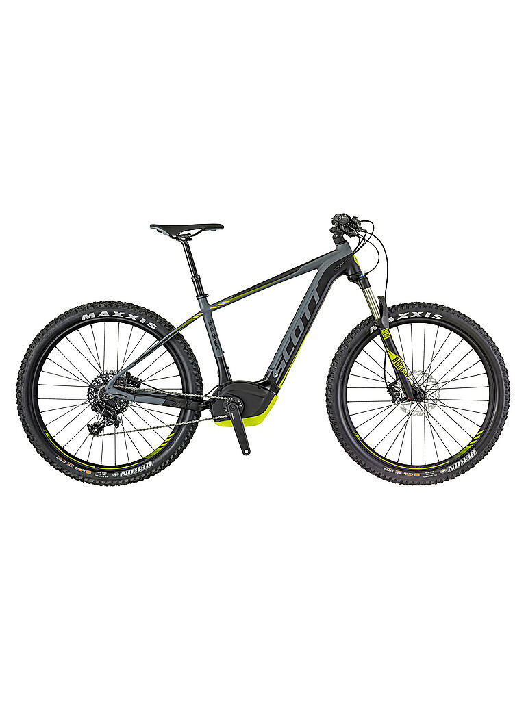 scott herren e mountainbike 27 5 e scale 720 2018 grau s. Black Bedroom Furniture Sets. Home Design Ideas