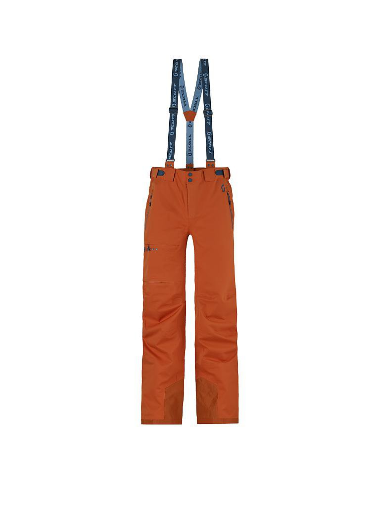 SCOTT | Herren Skihose Explorair 3L | orange