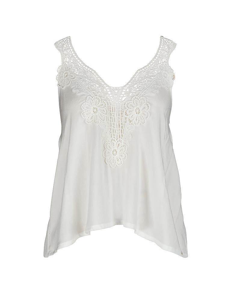 SKINY Damen Spaghetti-Shirt weiß   36 96c7b14687
