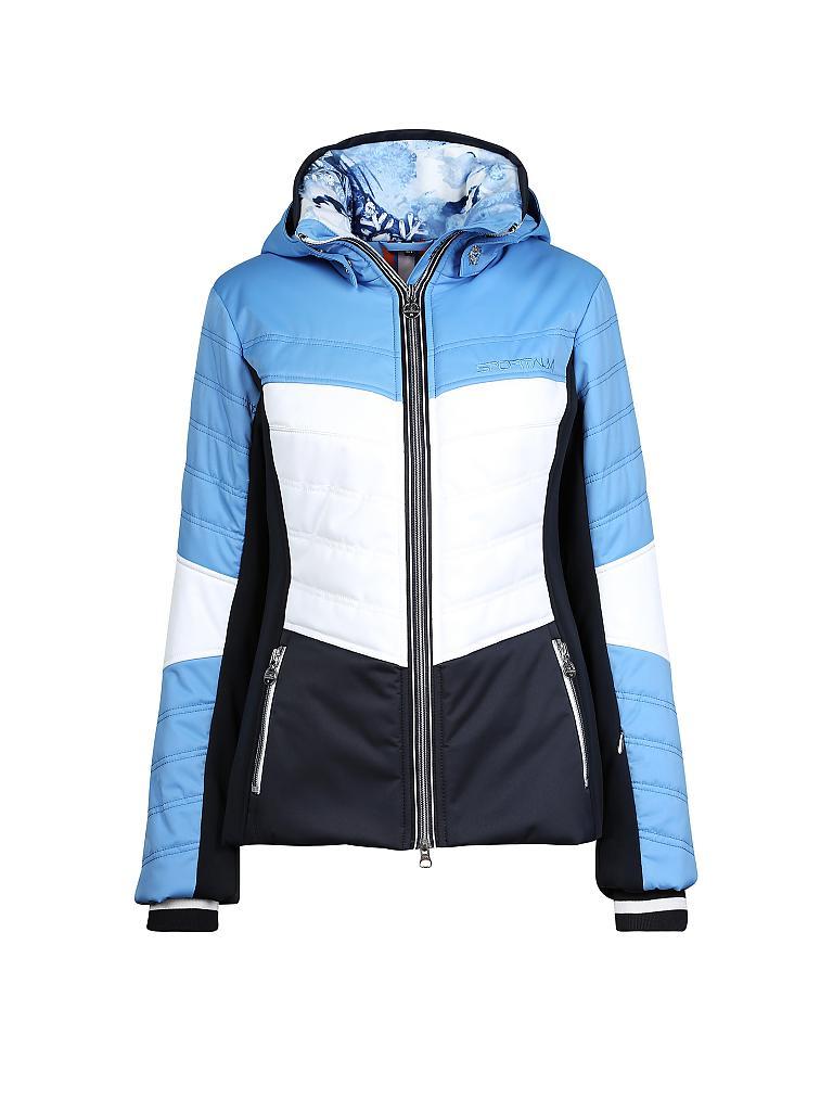 sportalm damen skijacke gazon blau 44. Black Bedroom Furniture Sets. Home Design Ideas