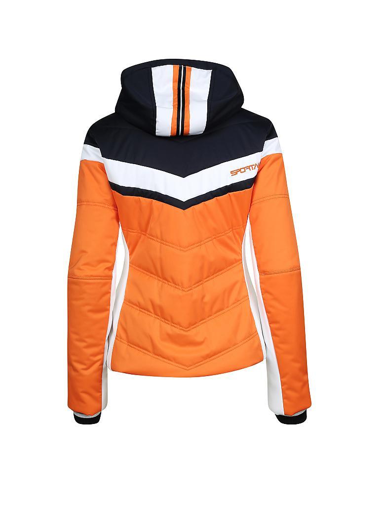 sportalm damen skijacke thollon orange 42. Black Bedroom Furniture Sets. Home Design Ideas